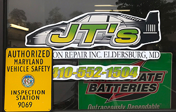 JTs Maryland State Inspection Eldersburg